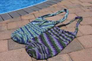 June: Summer Drawstring Pouch