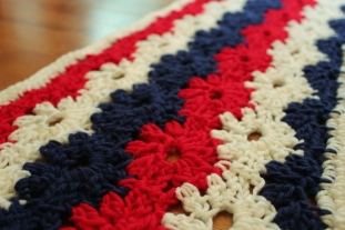 May: Stars & Stripes Table Runner