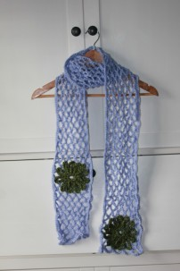 August: Lattice-work Scarf